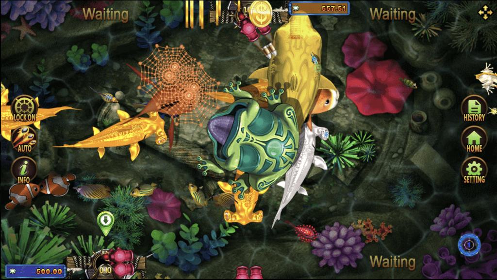 Fish Hunting- Golden Toad Joker123 Game