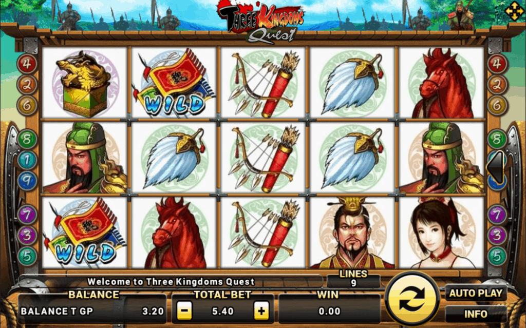 Three Kingdoms Quest Joker123 Game