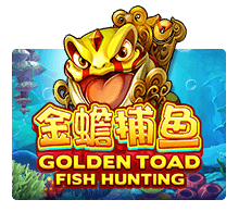 Fish Hunting: Golden Toad Joker123 สล็อตโจ๊กเกอร์ 168